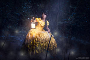 Belle lost in the woods by Shira-Cosplay