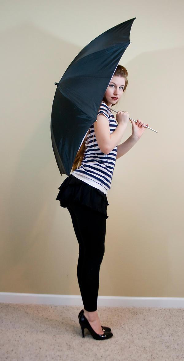 Umbrella booty by Sinned-angel-stock
