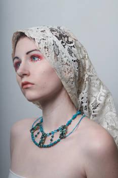 Lace headdress 2