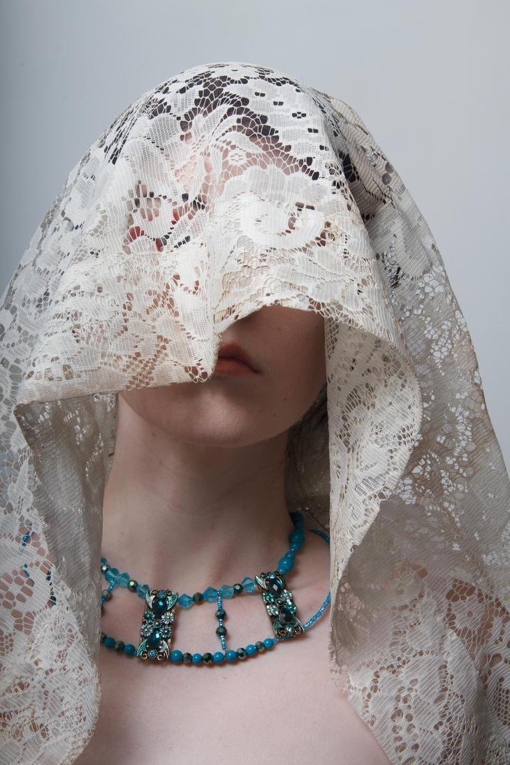 Lace headdress 3 by Sinned-angel-stock