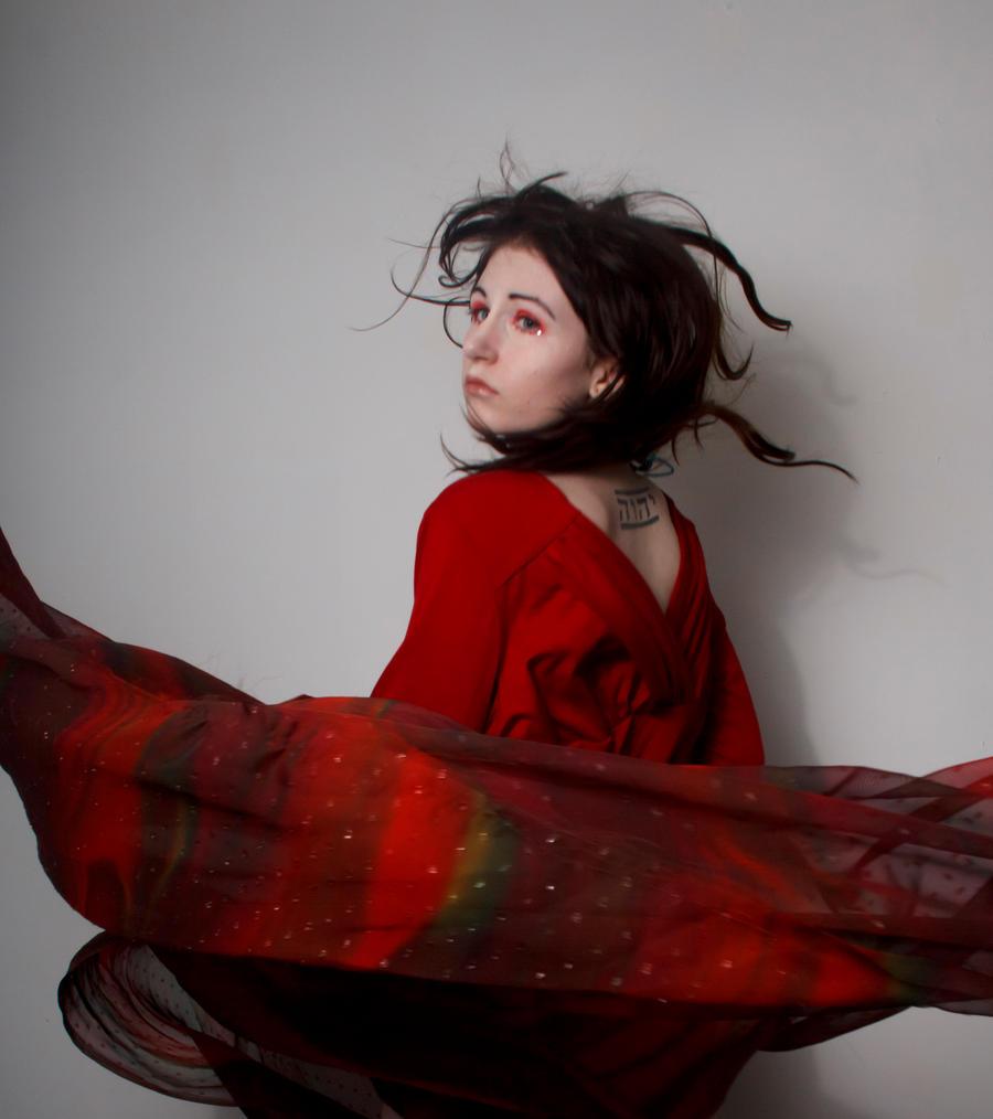 Red swirl 2 by Sinned-angel-stock