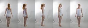 Pose ref: standing turn around