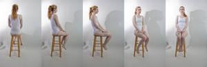 Pose ref: sitting turnaround