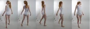 Pose ref: looking backward turn around