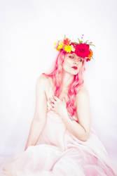 Flower crown 2 by Sinned-angel-stock