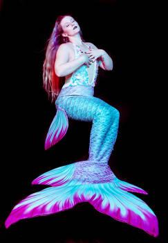 Mermaid tail stock