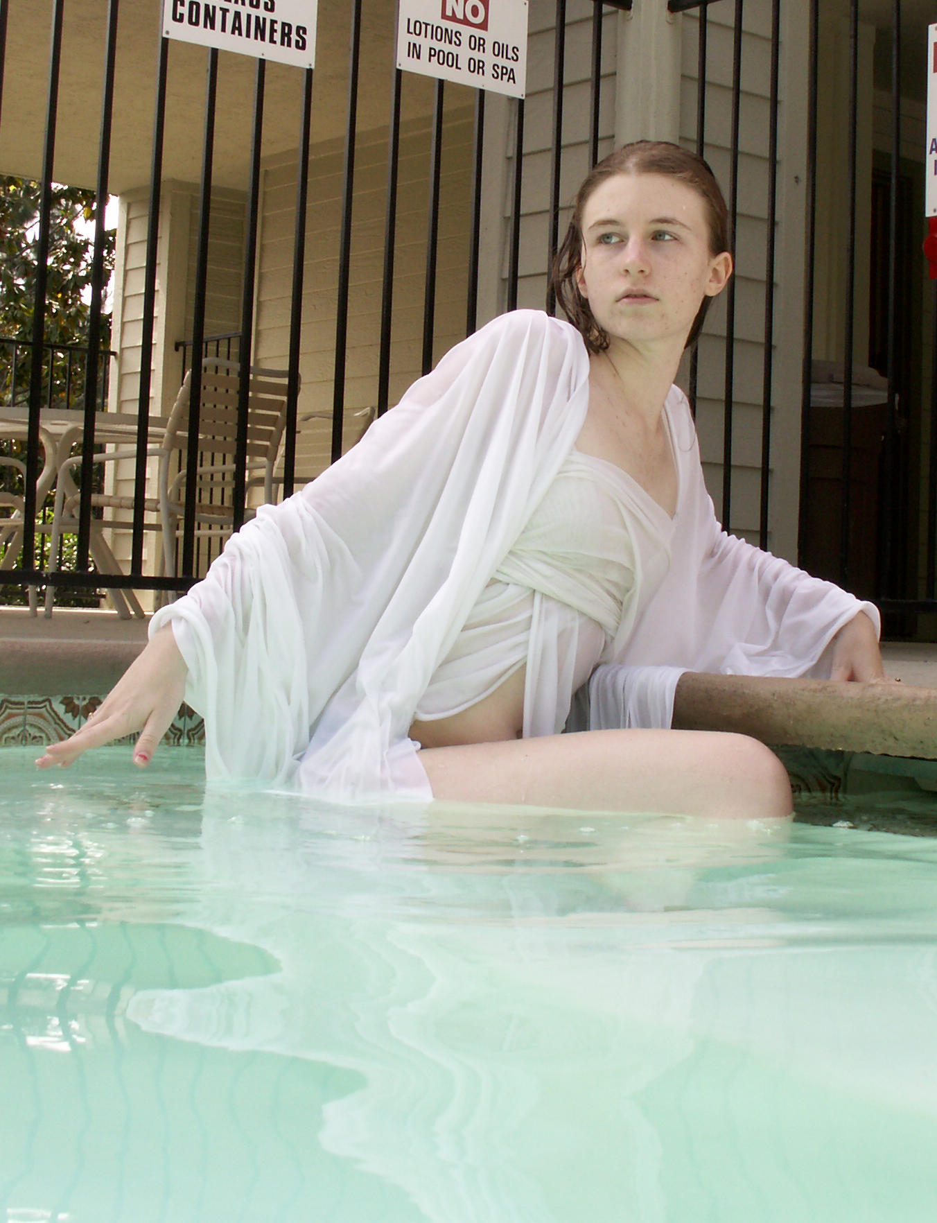 Draped and leaning by Sinned-angel-stock