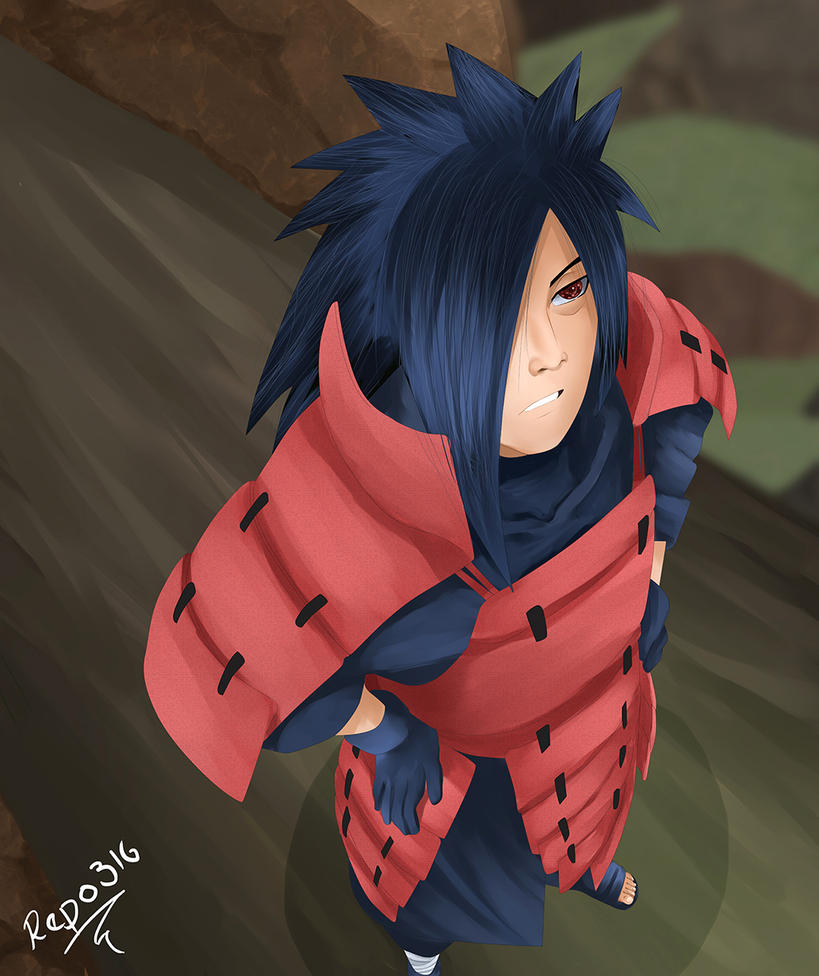 Uchiha Madara by Repo316