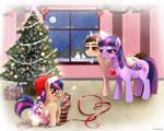 Parker x Sparkle Family: Happy Holidays!