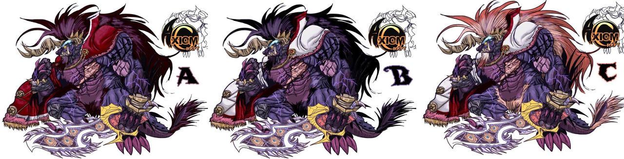 King Behemy Concept Colors