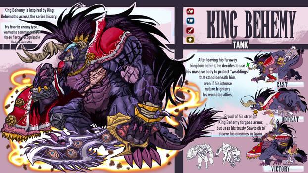 FFBE Unit Design Contest: King Behemy