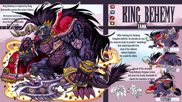 FFBE Unit Design Contest: King Behemy