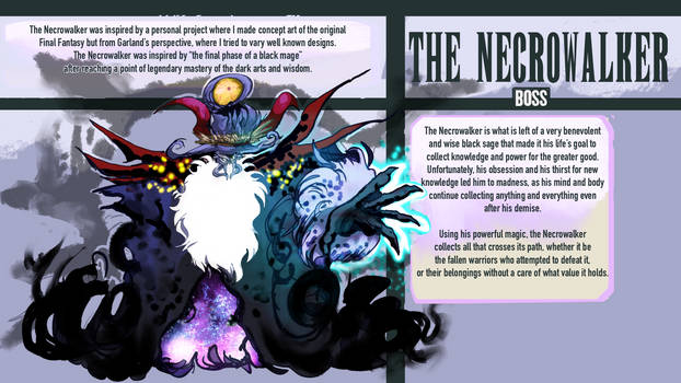 FFBE Unit Design Contest: The Necro Walker