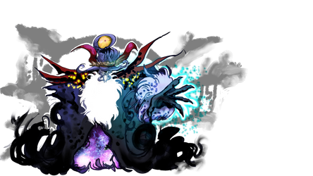 FFBE Unit Contest: Necro Walker Transparent BG