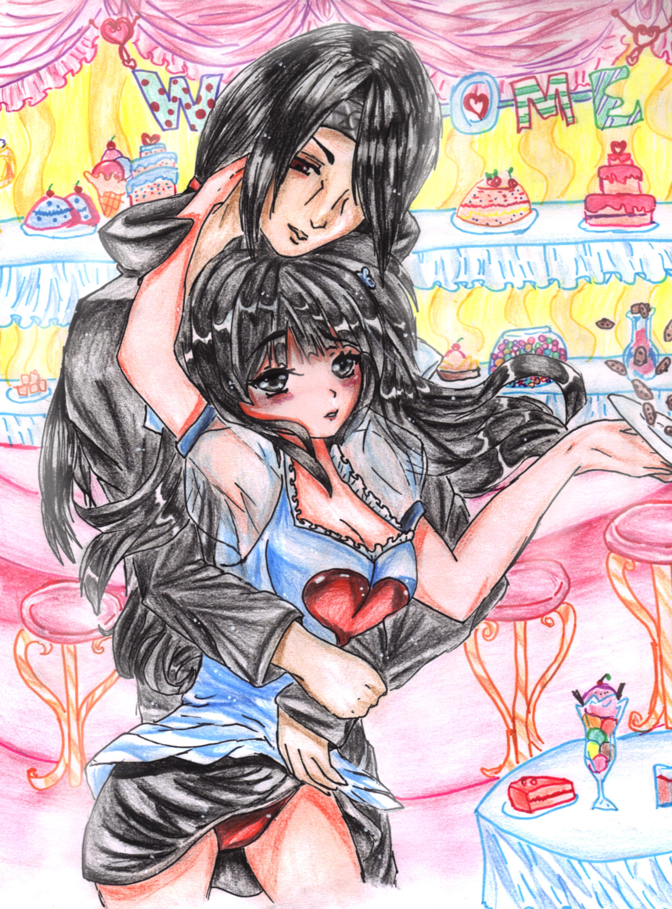 Itachi and Yuki by Maya-nyan