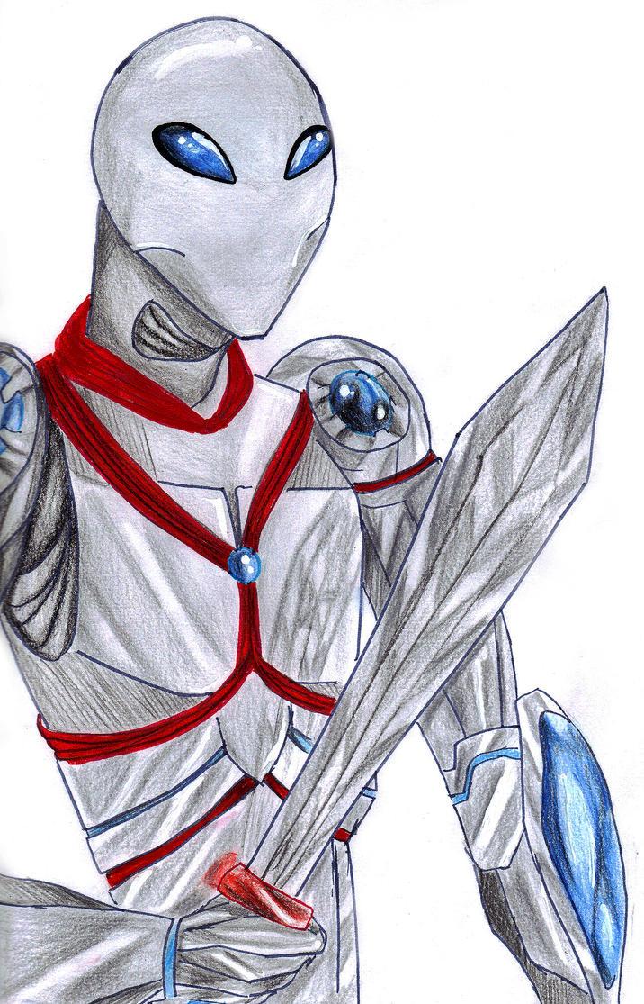 Mystic the hero - Gift by Maya-nyan
