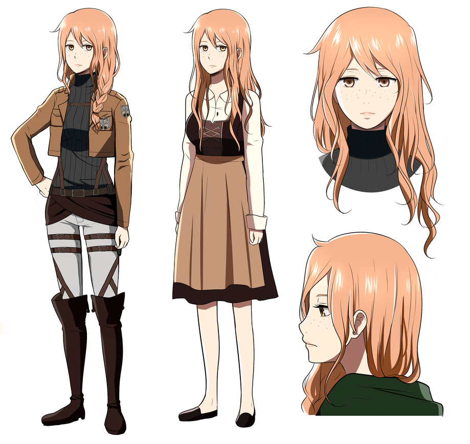 Shingeki No Kyojin OC : Ida Schutzen By 16121 On DeviantArt