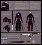 Rossa Pt.1 Refsheet by Nightwing-Kain