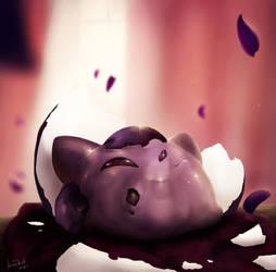 Birth of the black rose
