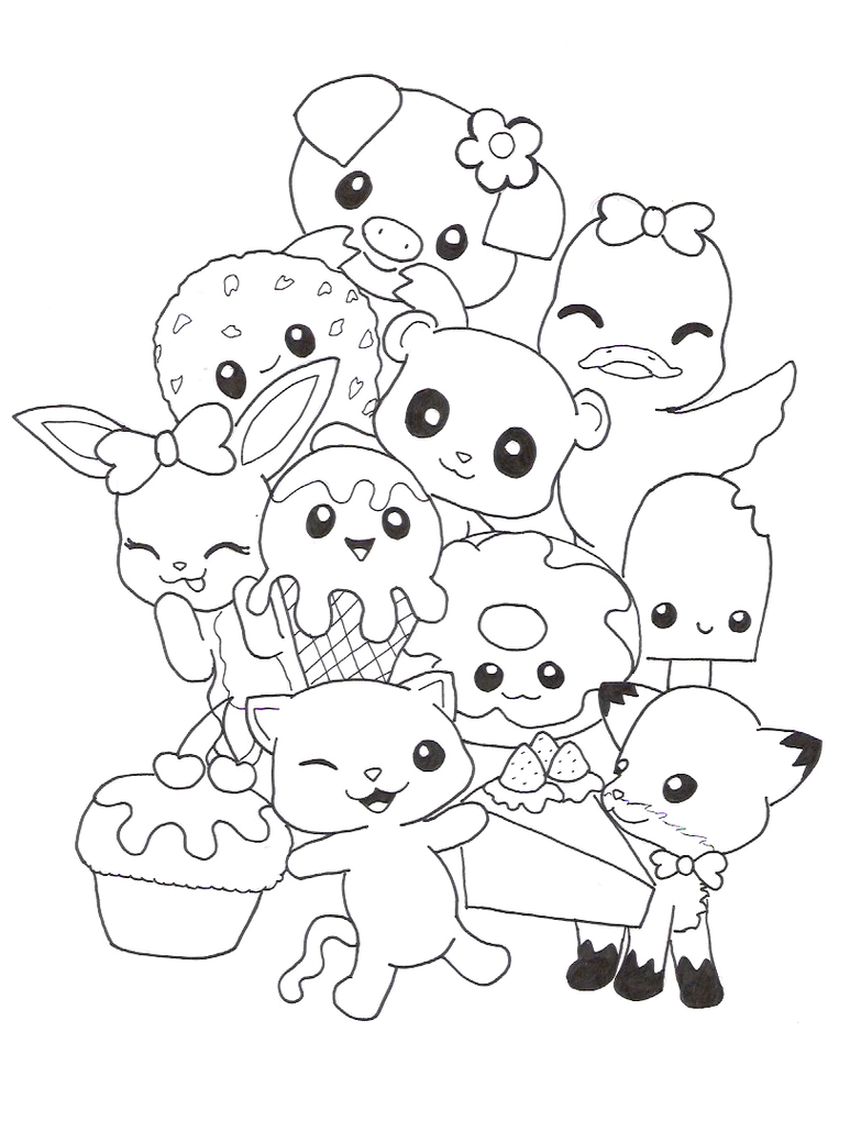 Cutest Coloring Pages Cats And Dogs Cristmas Themes