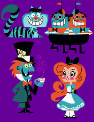 Alice in Wonderland Concepts by JustinCoffee