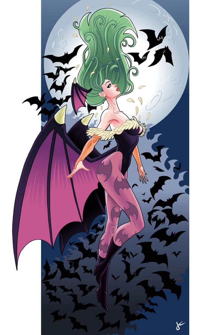 Morrigan by JustinCoffee