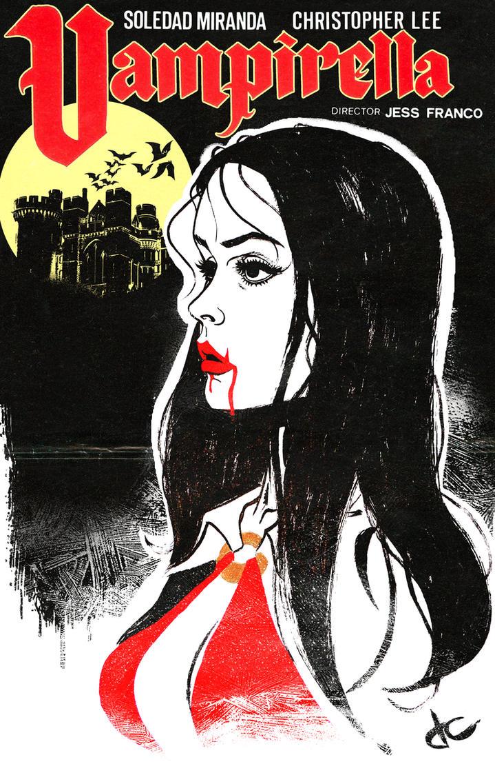 Vampirella Poster by JustinCoffee