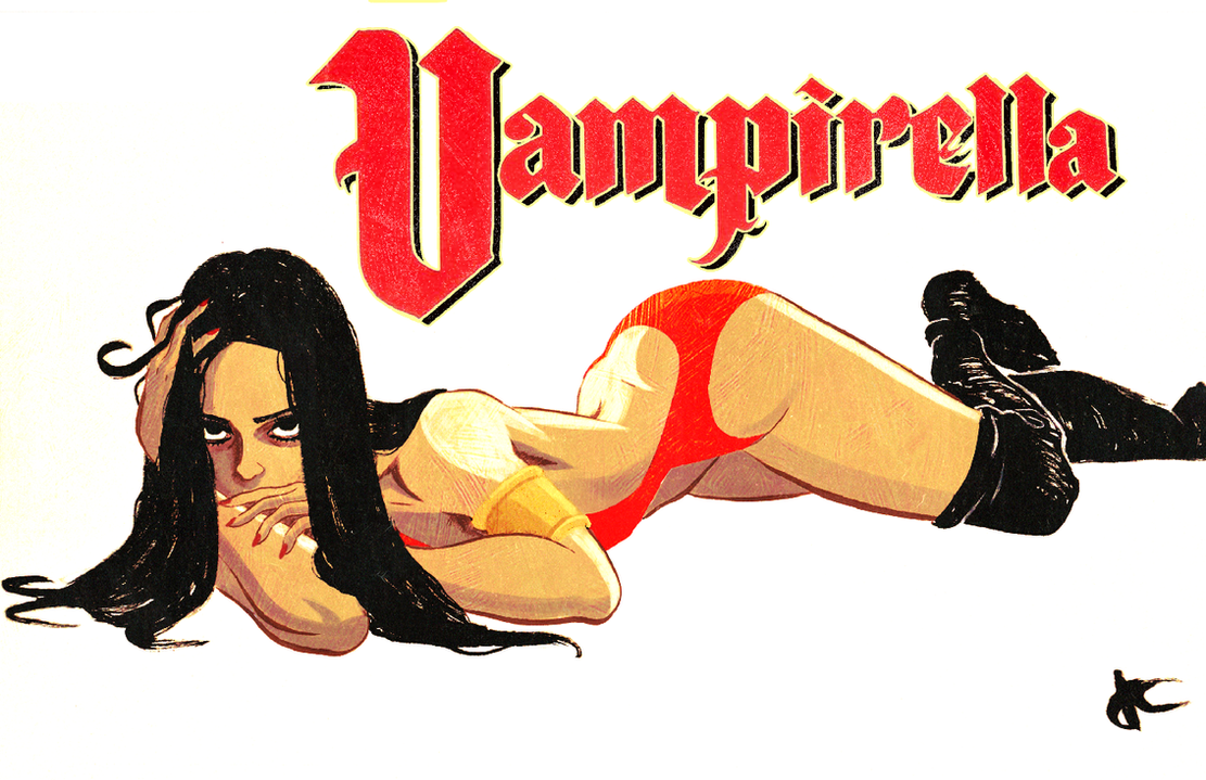 Vampirella Poster 2 by JustinCoffee