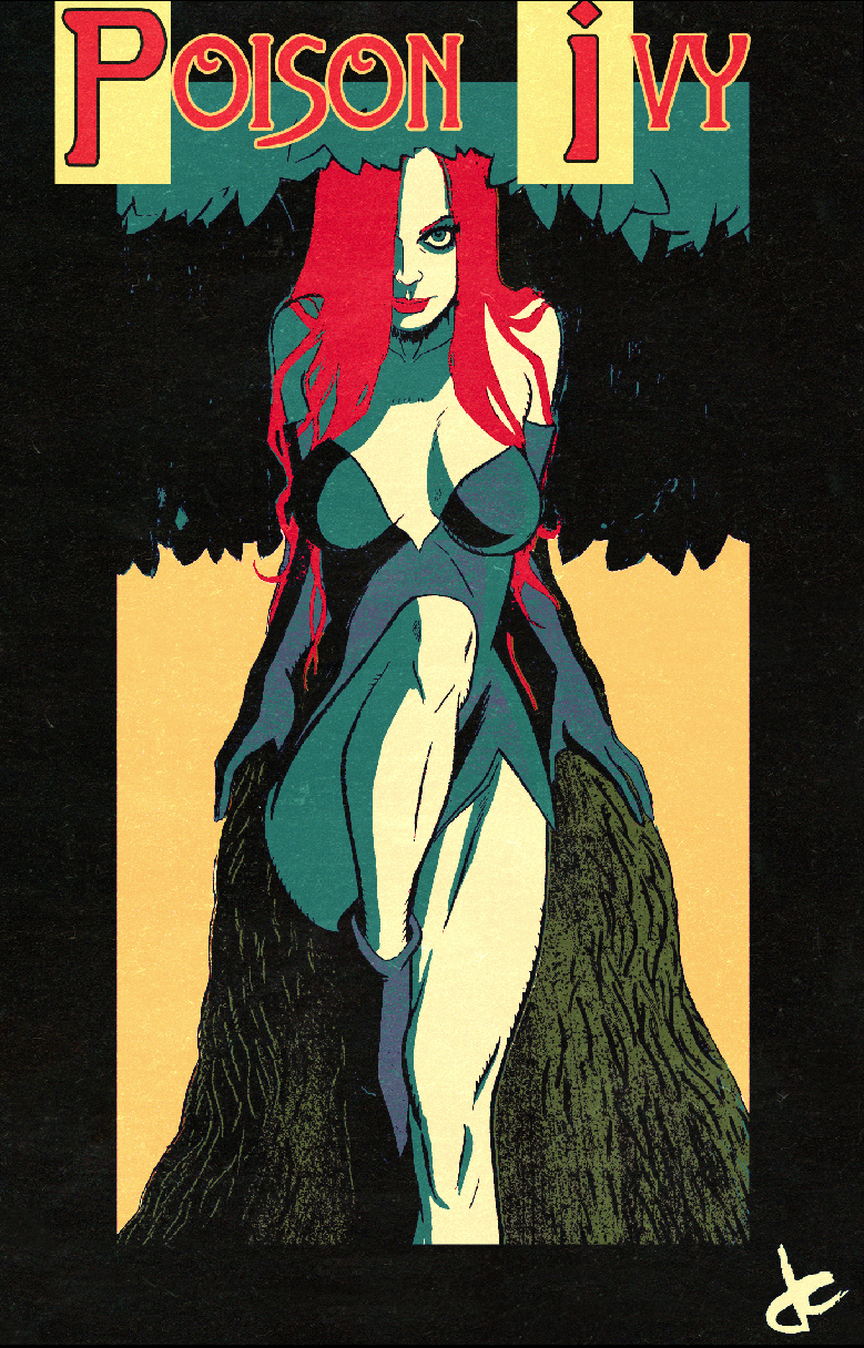Poison Ivy by JustinCoffee