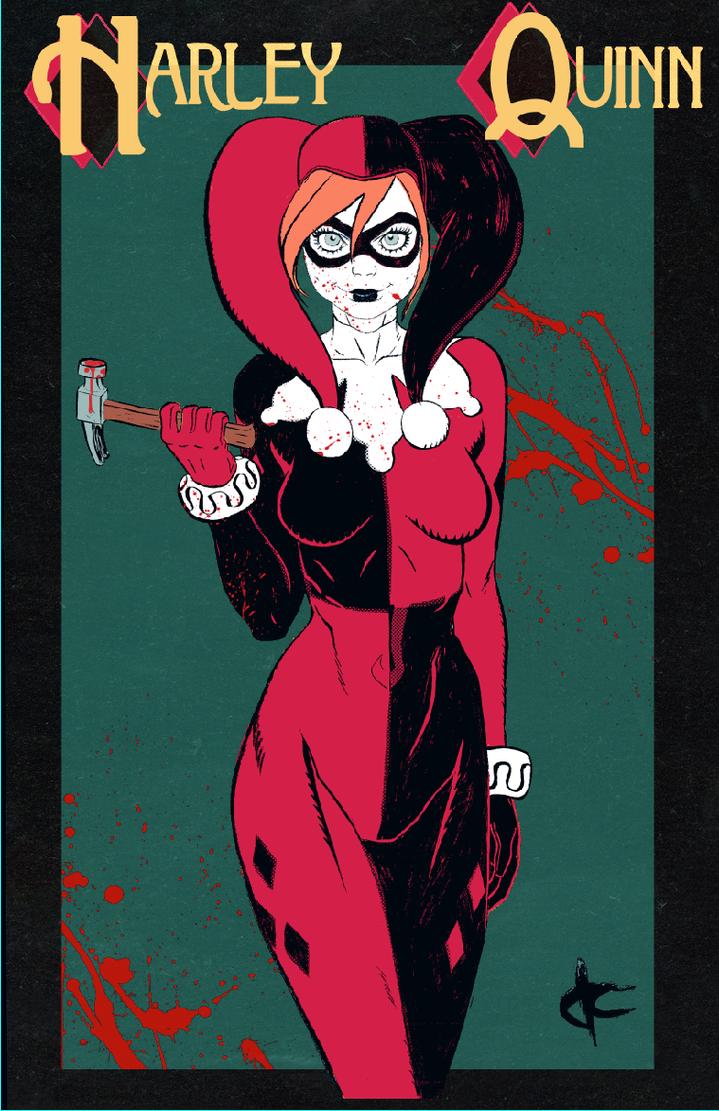 Harley Quinn by JustinCoffee