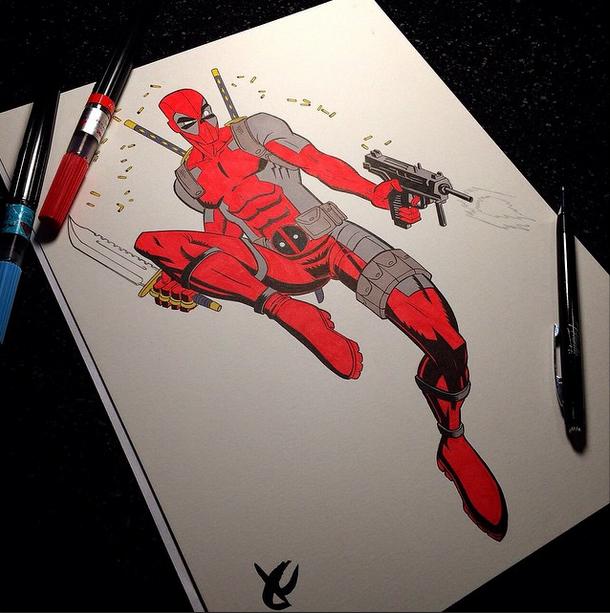 Deadpool by JustinCoffee