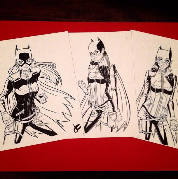 Batgirls by JustinCoffee