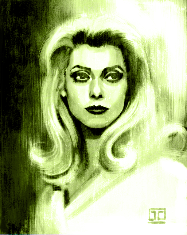 Deneuve sketch by JustinCoffee