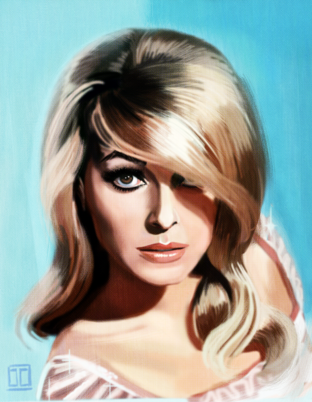 Sharon Tate by JustinCoffee