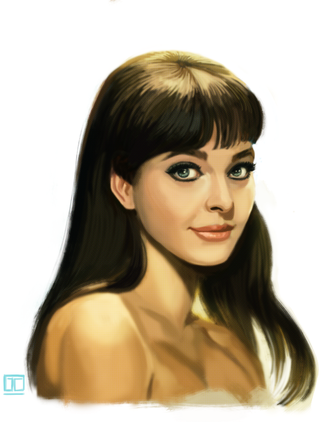 Anna Karina by JustinCoffee