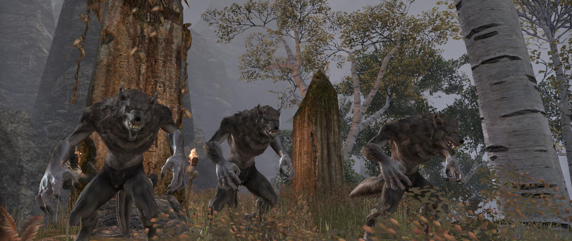 Elder scrolls online werewolf leveling