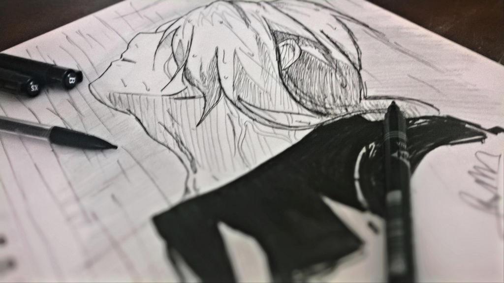Edward Elric Sketch by RinALaw