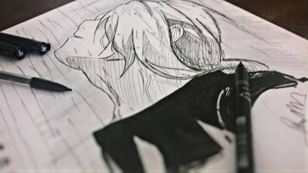 Edward Elric Sketch by RinALaw