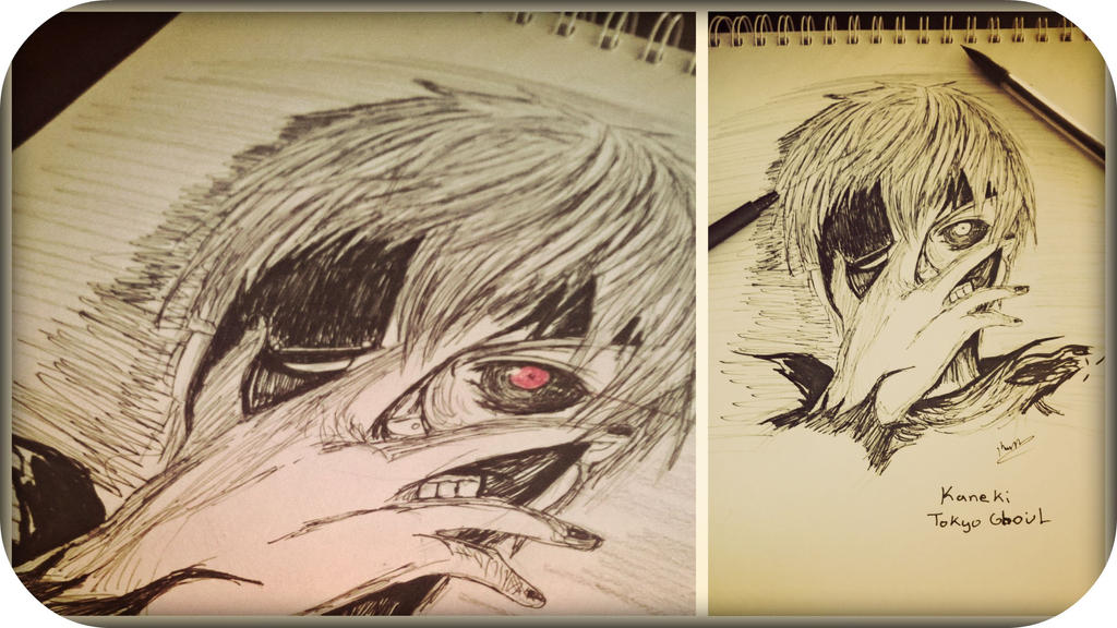 Kaneki Sketch.jpg by RinALaw