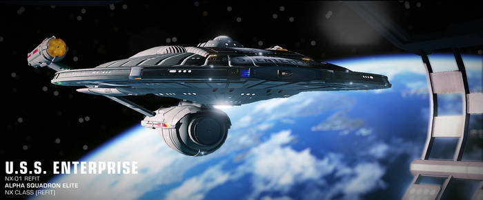 USS Enterprise | NX-01 Refit