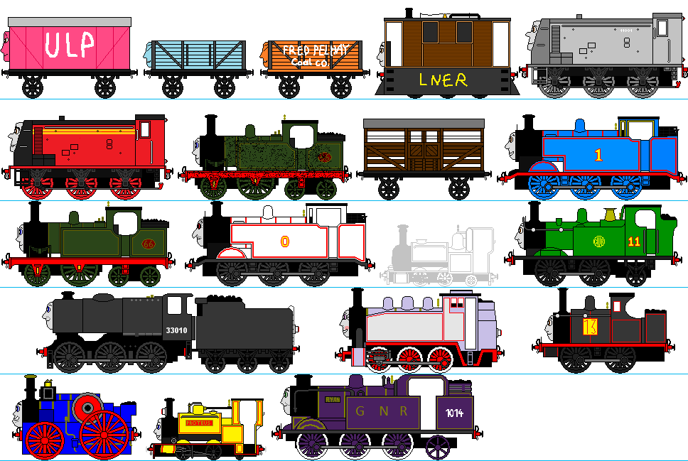 Custom Thomas Sprites 1 By Thomasfan22 On Deviantart