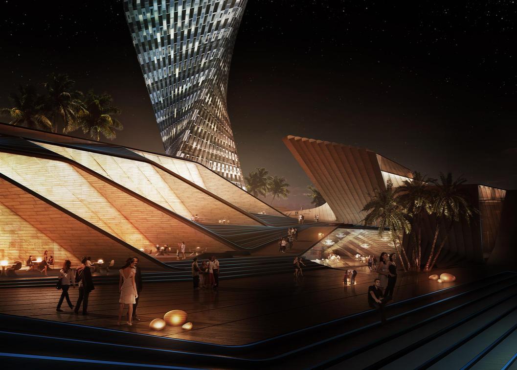 Xiamen Dream City by newke