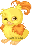 Pixel Shiny Torchic by scarynoodles
