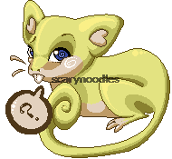 Pixel Shiny Rattata by scarynoodles
