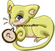 Pixel Shiny Rattata