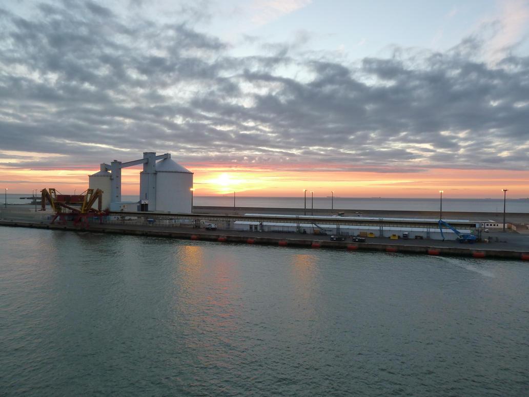 Sugar Berth, Port Of Calais by MerchantNavyCadet