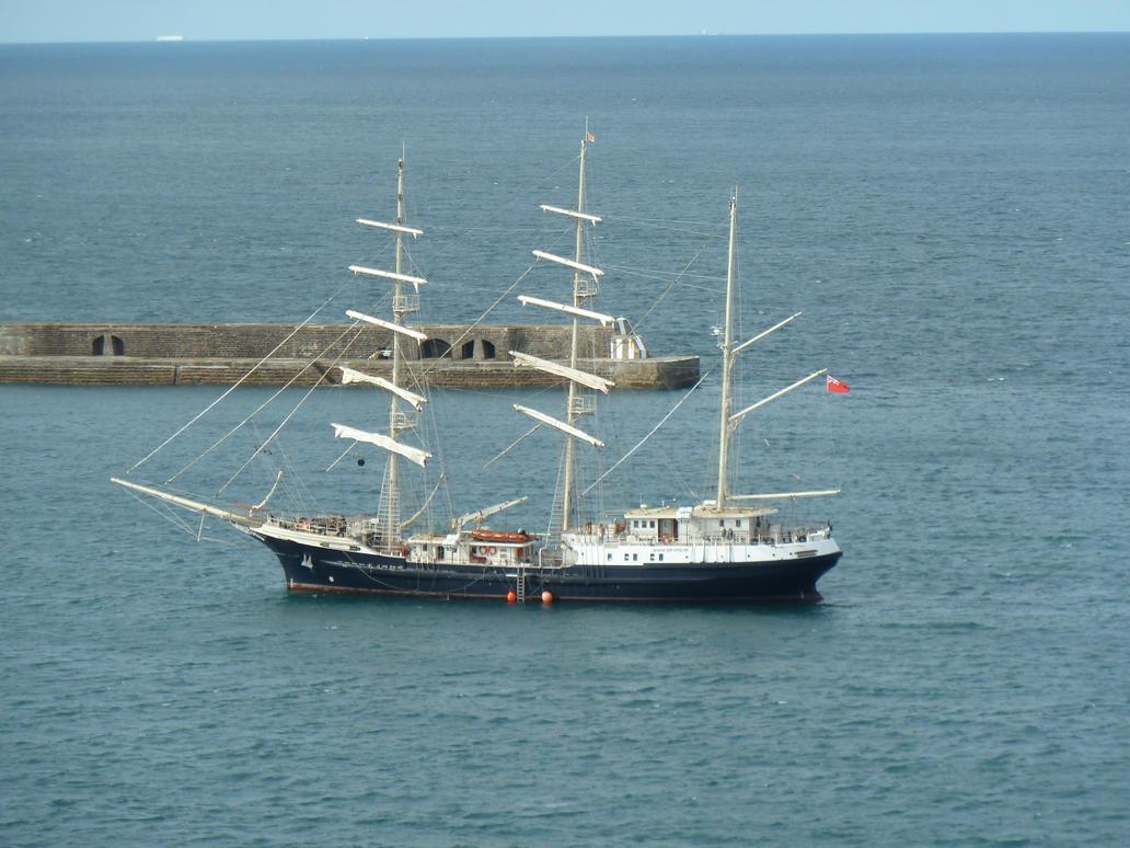 Sailing Vessel Tenacious by MerchantNavyCadet
