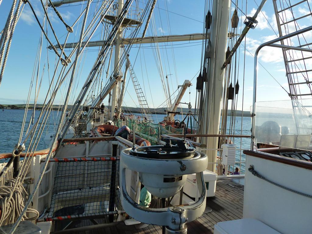 On Board The Tenacious by MerchantNavyCadet