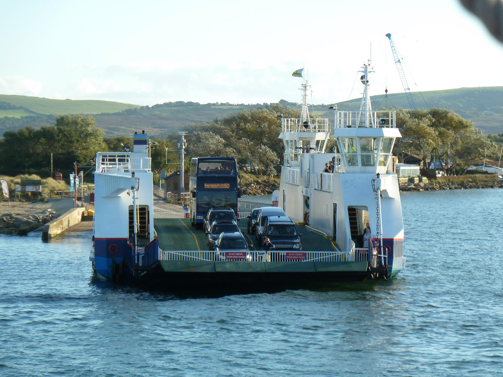 Sandbanks Ferry by MerchantNavyCadet