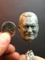 Bob Burns 1/6 scale Sculpey by jesserubin